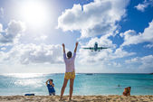Philispburg, Sint Maarten, Dutch Antilles — Stock Photo