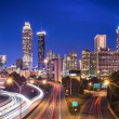 Atlanta, GeorgiSkyline — Stockfoto #38775963