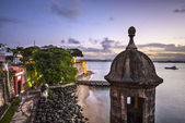 San Juan, Puerto Rico Coast — Stock Photo