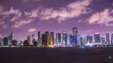 Miami Time Lapse — Stock Video