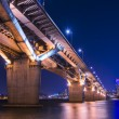 Seoul, South Korea at Han River — Stock Photo