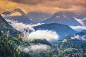 Zámek Neuschwanstein — Stock fotografie