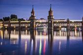 Oberbaum köprüsü — Stok fotoğraf