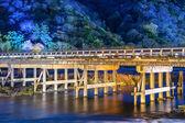 Togetsukyo brug — Stockfoto