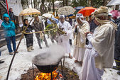 Shinto Ceremony — Foto Stock