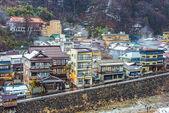 Shibu Onsen in Nagano, Japan — Stock Photo