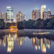 Atlanta, GeorgiSkyline — Stockfoto #40107507