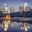 Atlanta, GeorgiSkyline — Foto Stock #40107507