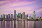 Miami Florida Skyline — Foto Stock