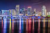 Miami Florida Skyline — Stock Photo
