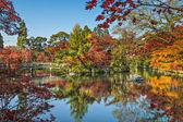 Kyoto at Eikando Temple Garden — Stock Photo