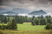 Bavarian Farmlands — Stock Photo