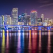 Miami FloridSkyline — Stock Photo #40497015