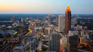 Downtown Atlanta — Wideo stockowe