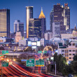 Atlanta, GeorgiSkyline — Stockfoto #40803051