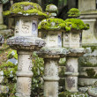 Japanese Stone Lanterns — Stock Photo