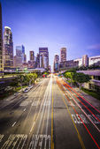 Downtown los angeles — Foto Stock