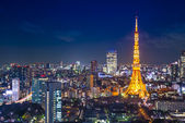 Tokyo Cityscape at Tokyo Tower — Stock Photo