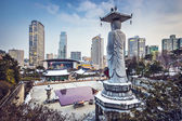 Seoul Cityscape — Stock Photo