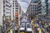Shopping Street in Berlin — Stock Photo