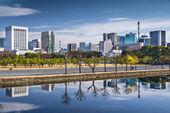 Tokyo Cityscape in Marunouchi District — Stock Photo