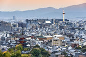 Kyoto Japan Skyline — Stock Photo