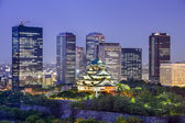 Osaka, Japan Cityscape — Stock Photo