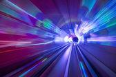 Tunnel Lights — Stock Photo