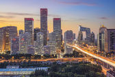 Beijing Financial District — Stock Photo