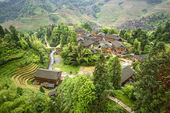 Longsheng Village — 图库照片