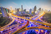 Shanghai Highways — Stock Photo