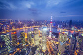 Shanghai Aerial View — Stock Photo