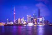 Shanghai luftbild — Stockfoto