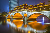 Chengdu Bridge — Stock fotografie