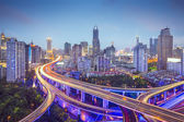 Shanghai Highways — Stock Photo
