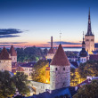 Tallinn, Estonia at dawn. — Stock Photo #50127311