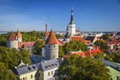 Tallinn in the Day — Stock Photo
