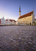 Tallinn Old Town Hall Square — Stock Photo
