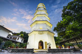White Pagoda of Fuzhou, China — Stock Photo
