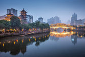 Chengdu, China On the Jin River — Stock Photo