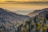 Parque nacional das montanhas smoky — Foto Stock