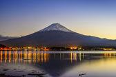 Mt. Fuji at Dusk — Stock Photo