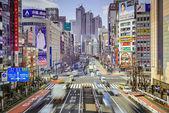 Shinjuku cityscape — Stok fotoğraf
