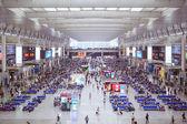 Shanghai Hongqiao Railway Station — Stock Photo