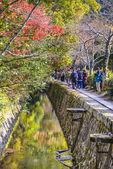 Philosopher's Path in Kyoto, Japan — Stock Photo