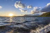 Lago shikotsu — Foto de Stock