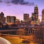 Skyline of Uptown Charlotte — Stock Photo #8265112
