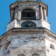 Stock Photo: The clock tower, Vyborg, Russia, the bottom view