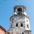 Stock Photo: The clock tower ,Vyborg, Russia, the bottom view