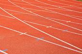 Background of racecourse of stadium — Stock Photo